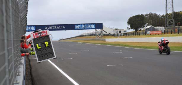 Phillip Island acoge la primera carrera de Supersport y Superbikes 2013