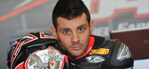 Michel Fabrizio se impone en la QP1 de Superbikes