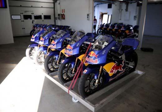 La Red Bull Rookies Cup convoca cuatro jornadas de test