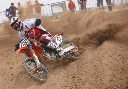 José Antonio Butrón vence la primera carrera del Campeonato de España de Motocross