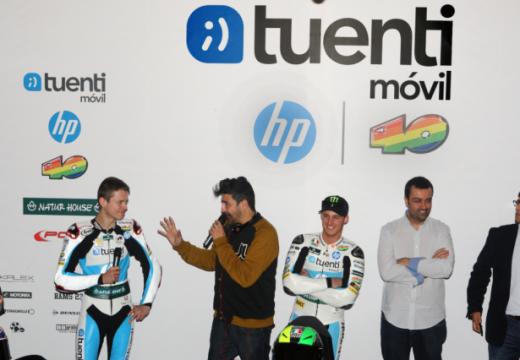 El Tuenti HP 40 presenta sus armas en Madrid
