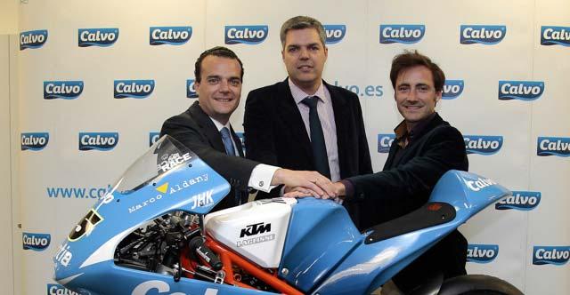 El Grupo Calvo es el nuevo patrocinador de Viñales y Carrasco