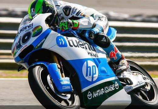 Espargaró y Viñales al frente de la clasificación en el tercer día en Jerez