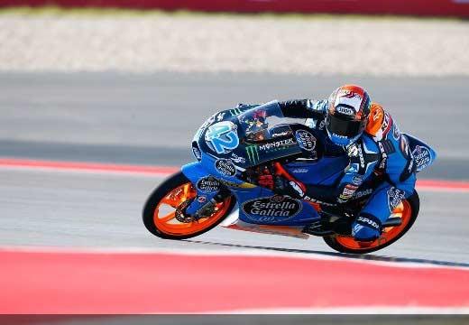 Rins gana dos veces en Austin tras una bandera roja en Moto3