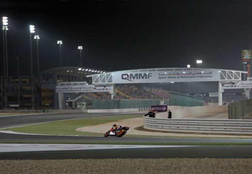 Los pilotos Repsol satisfechos con los libres en Qatar