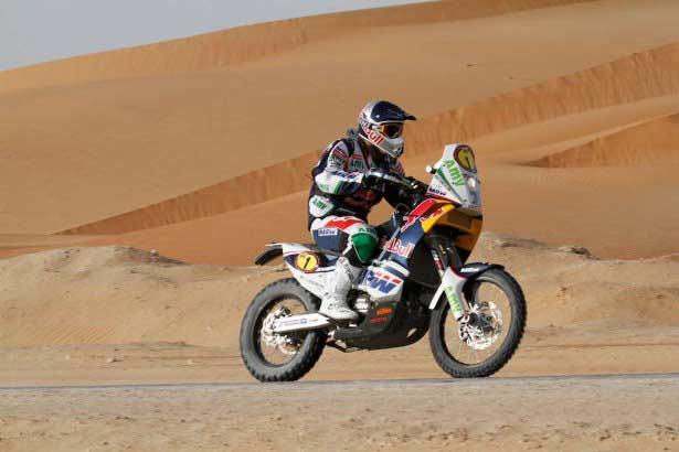 Coma Abu Dhabi Desert Challenge 2012