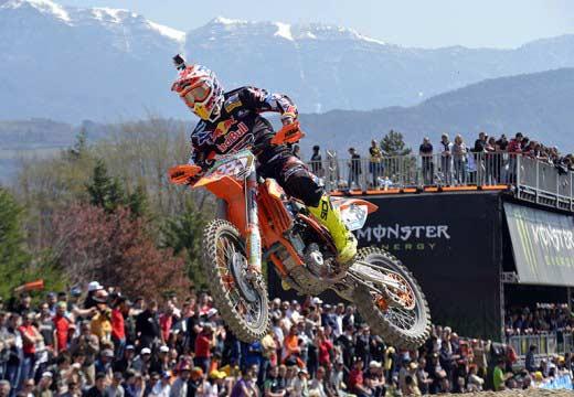Mundial de Motocross: Cairoli consigue el doblete en Trentino