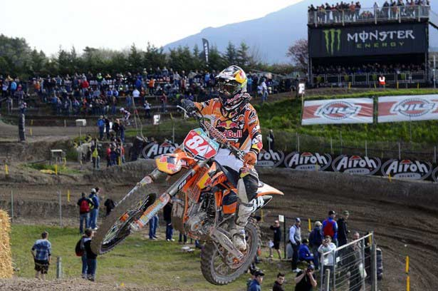 Jeffrey Herlings en Trentino