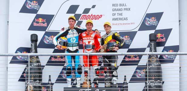 Nico Terol vence en Moto2 en el Circuito de las Américas
