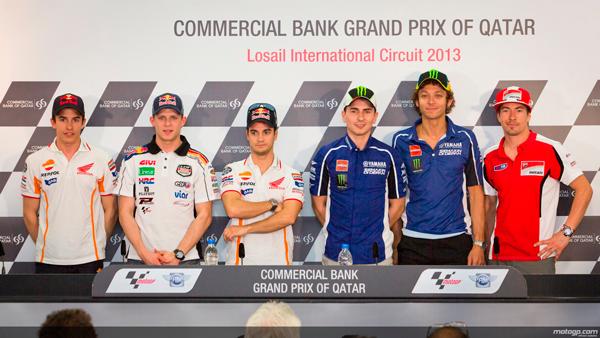 Rueda de prensa del Gran Premio de Qatar