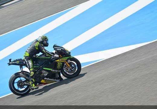 Rins, Crutchlow y Rabat los más rápidos en la FP3 de Jerez