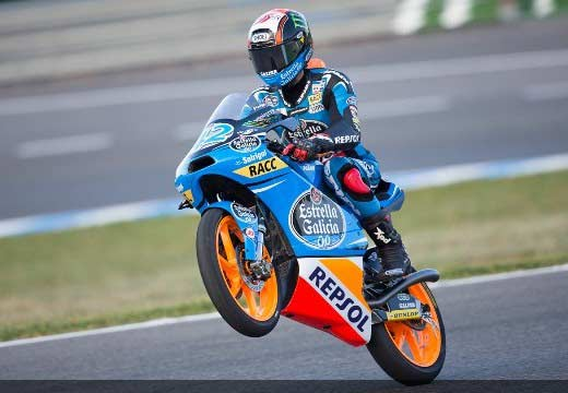 Alex Rins se hace con la pole de Moto3 en Jerez