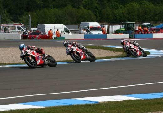 Fin de semana difícil para el Ducati Alstare