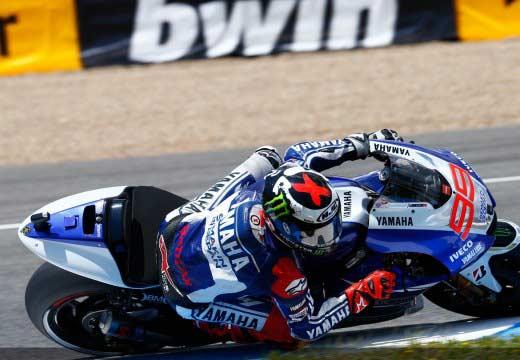 Lorenzo consigue su segunda pole de la temporada en Jerez