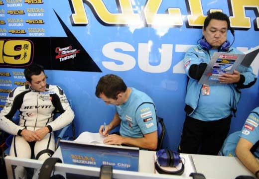 Randy De Puniet se va a Japón a probar la Suzuki