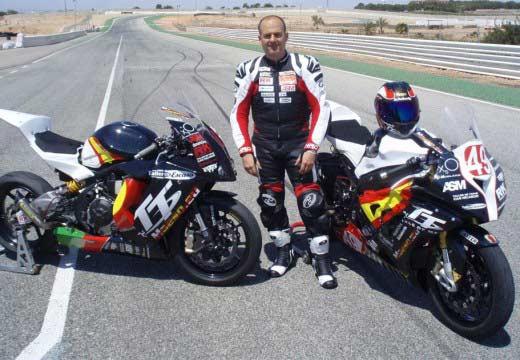 TT Isla de Man 2013: Antonio Maeso se fractura la rodilla
