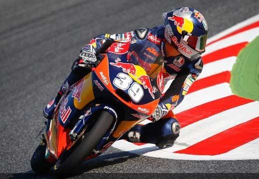 Luis Salom se lleva un carrerón de Moto3 en Montmeló