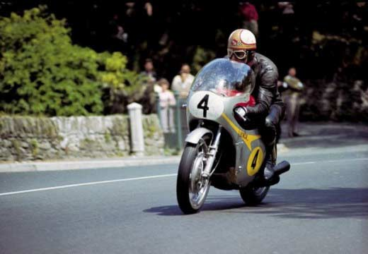 El SideBar. El Tourist Trophy de 1967