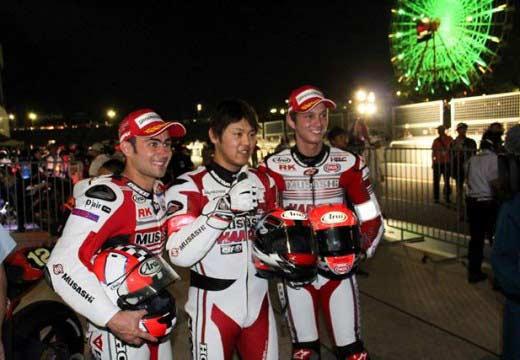 Haslam, VD Mark y Takahashi ganan las 8 horas de Suzuka