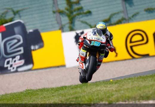 Simeon logra su primera pole de Moto2