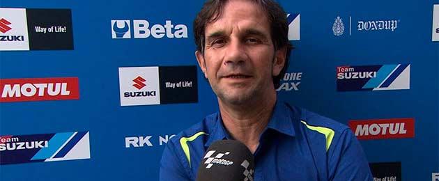 Davide Brivio abre la puerta de Suzuki a Rossi para 2015