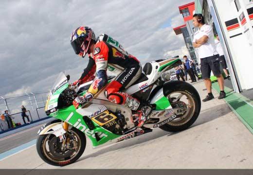 Primera toma de contacto para MotoGP en Río Hondo