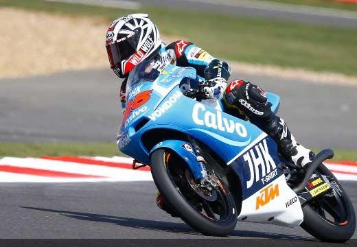 Viñales saldrá primero mañana en Silverstone Moto3