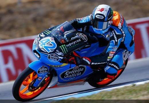 Alex Rins se lleva la pole en Moto3 en Brno