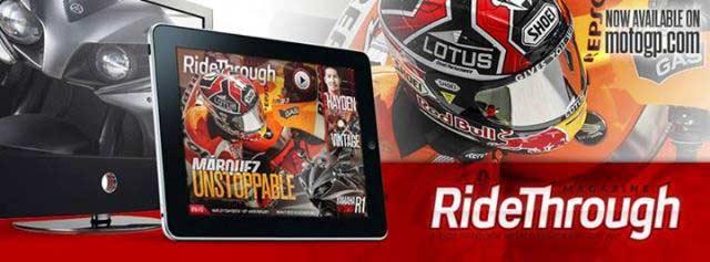 Ride Through Magazine se convierte en la revista oficial de Motogp