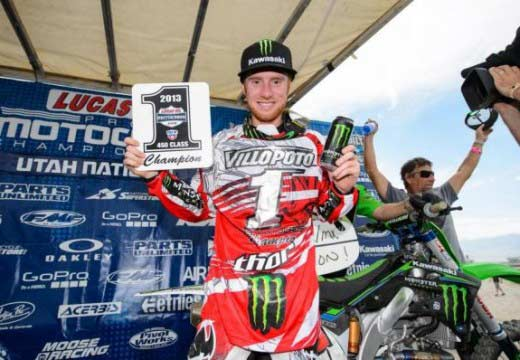 Villopoto y Tomac son los nuevos campeones del AMA Motocross