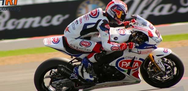 Jonathan Rea se lleva la primera manga de Superbikes en Silverstone