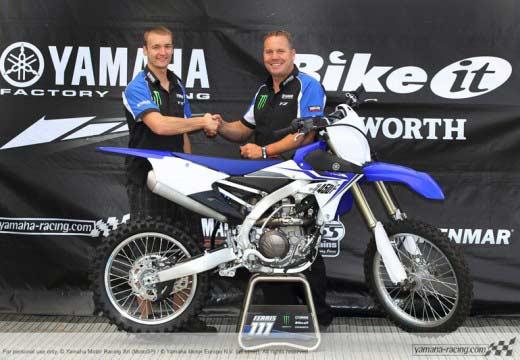 MXGP: Ferris a MX1 con Yamaha y Frossard ficha por Kawasaki