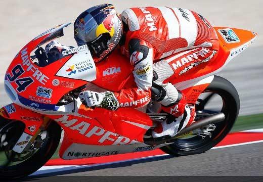Folger se lleva la pole de Moto3 en Misano