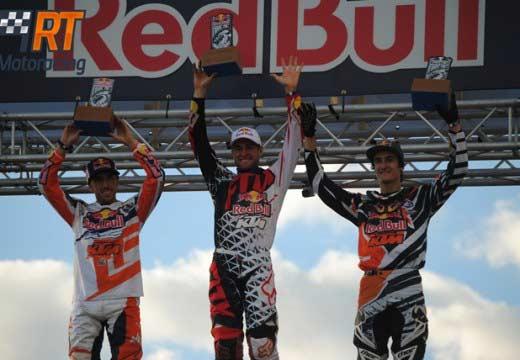 Prado y Dungey en lo más alto del podio del Red Bull Give Me Five