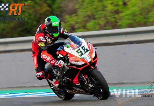 Laverty consigue su segundo doblete de la temporada en Jerez