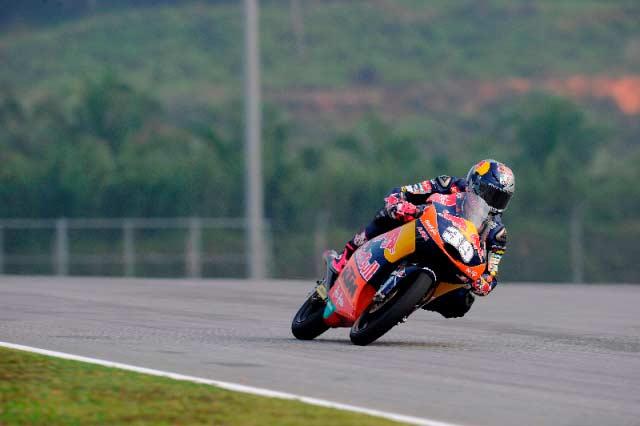 Luis Salom, Malaysian Moto3 2013