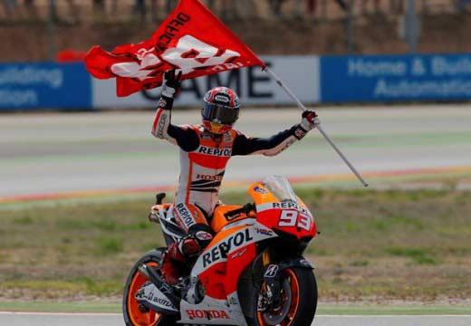 Lorenzo vence en Cheste; Márquez se proclama campeón del mundo de MotoGP 2013