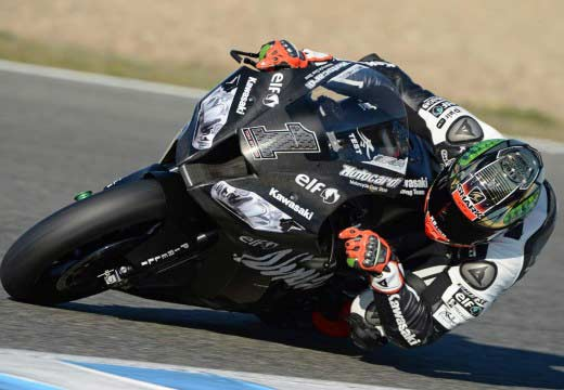 Tom Sykes domina los test de Jerez de Superbike
