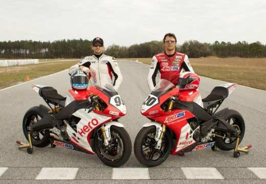 Hero EBR, nuevo equipo de Superbikes en 2014