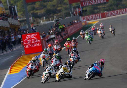 Lista de inscritos provisional de la categoría de Moto3