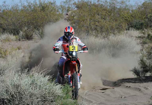 Joan Barreda se lleva la tercera etapa del Dakar 2014