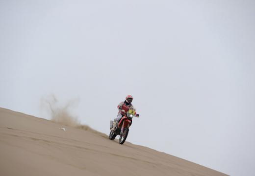 Joan Barreda se lleva la etapa 10 del Dakar