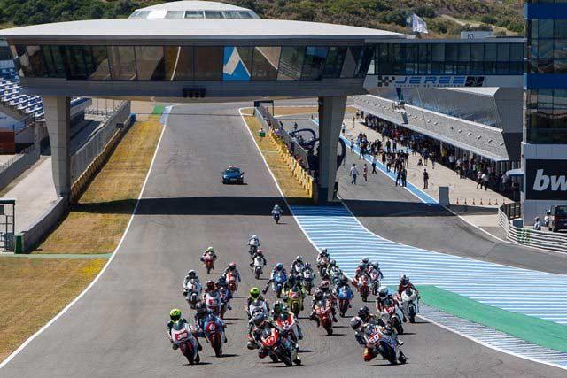 Salida Pre Moto 3 Jerez 2013. Fotografía Iván Terrón