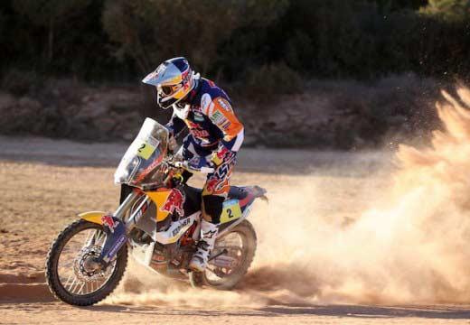 Españoles en el Dakar 2014, Marc Coma