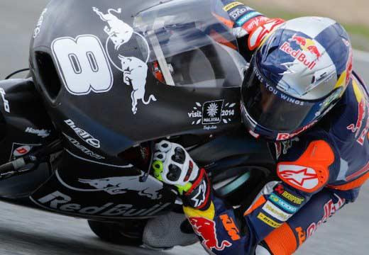 Miller y Kallio dejan Jerez como los mas rápidos