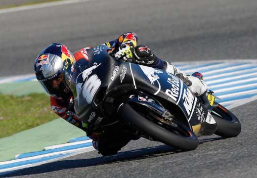 Luthi y Miller al frente en el segundo día en Jerez
