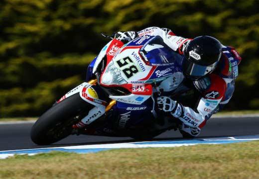 Eugene Laverty probará mañana la Suzuki de MotoGP