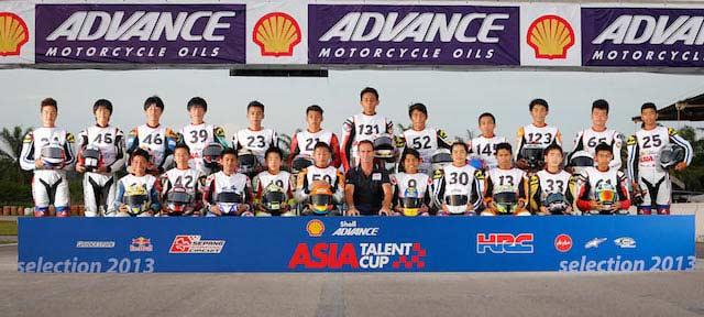 La nueva Asia Talent Cup lista para su primer entreno en Motorland