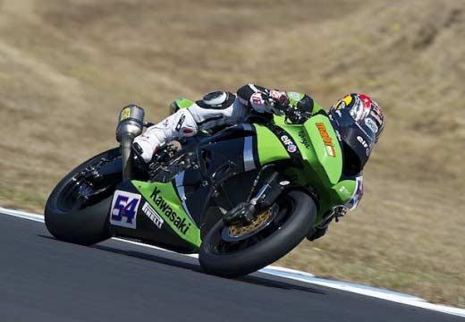 Los pilotos Kawasaki lideran los últimos test de Superbikes y Supersport