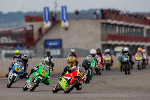 Salida Challenge 80-Moto4 Alcarràs 2014. Fotogr